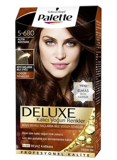 Palette Palette Deluxe Yoğun Renkler 5-680 Altın Kestane Renkli
